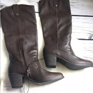 New Mossimo Esmeralda Tall Western Boot 7